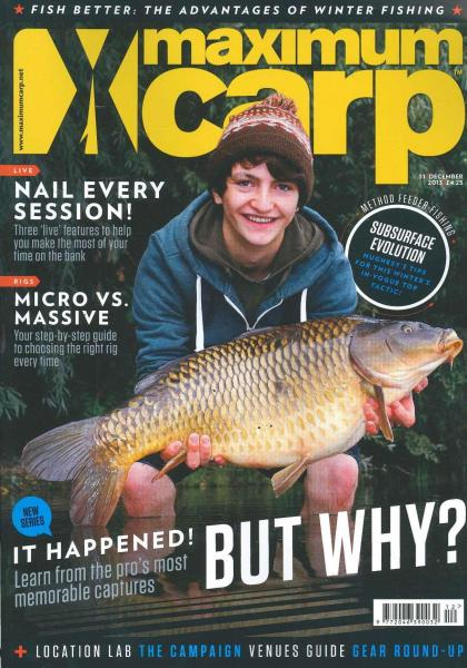 Maximum Carp magazine subscription