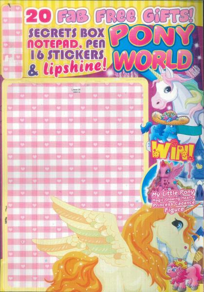 Pony World magazine subscription