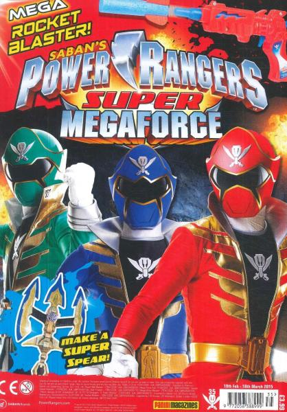 Power Rangers magazine