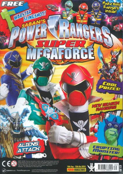 Power Rangers magazine subscription