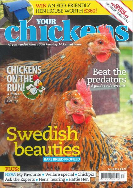 Your Chickens magazine subscription