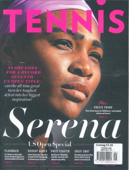 Tennis  magazine subscription