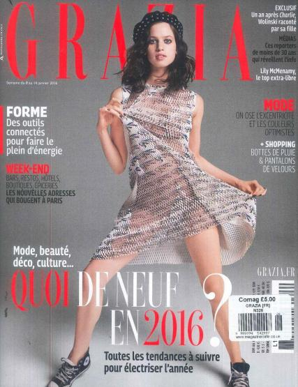 Grazia French Magazine Subscription Buy At