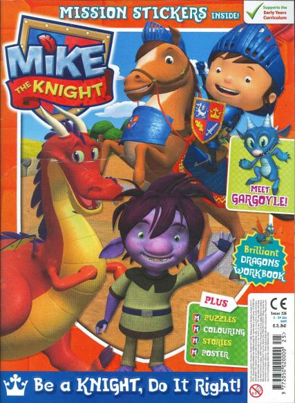 Mike The Knight magazine subscription