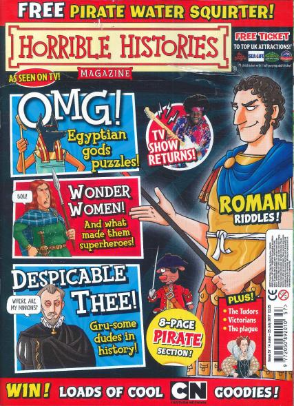 Horrible Histories magazine