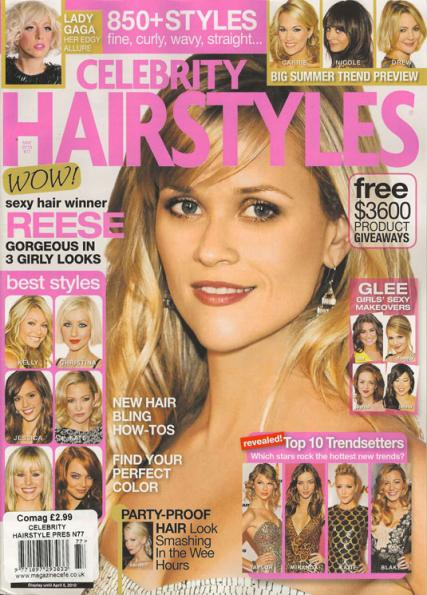 Buy Celebrity Hairstyle Presents magazine subscription | Hair Titles ...