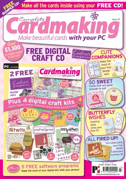 Complete Cardmaking magazine subscription