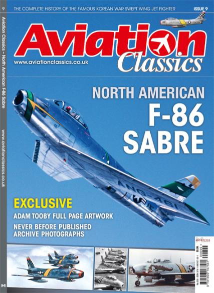 Aviation Classics - F-86 Sabre at Unique Magazines