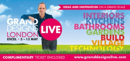 Free Grand Designs live ticket worth £19