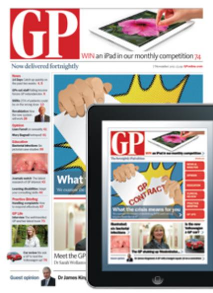 GP magazine subscription