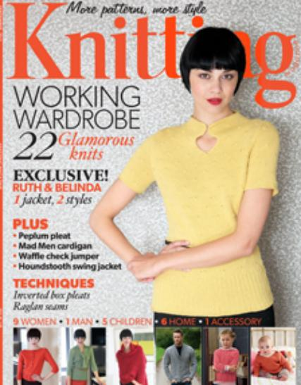 Knitting Magazines Uk : Knitting magazine subscription buy at uniquemagazines