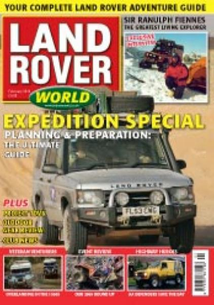 Land Rover World February 2010 Back Issue at Unique Magazines