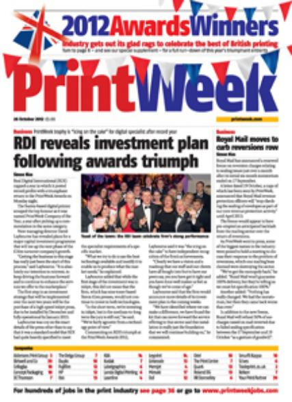 PrintWeek magazine subscription