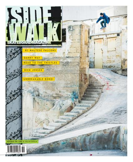 Sidewalk magazine subscription