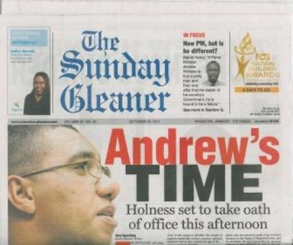 The Sunday Gleaner magazine subscription