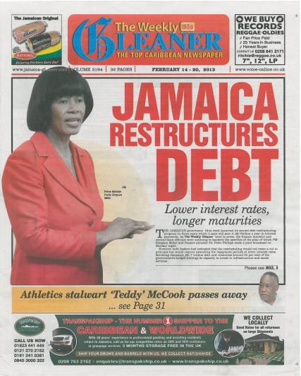 The Weekly Gleaner magazine subscription