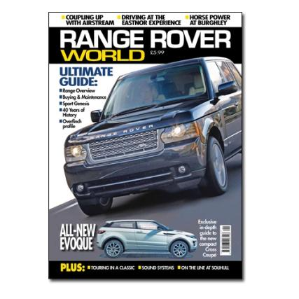 Range Rover World at Unique Magazines