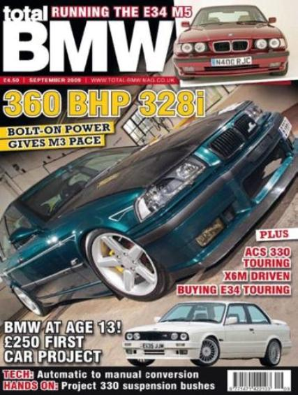 Total BMW September 2009 Issue 108 Back Issue at Unique Magazines
