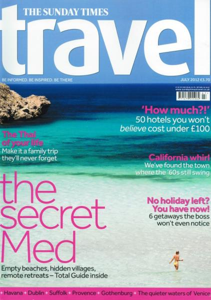 Sunday Times Travel Magazine Subscription